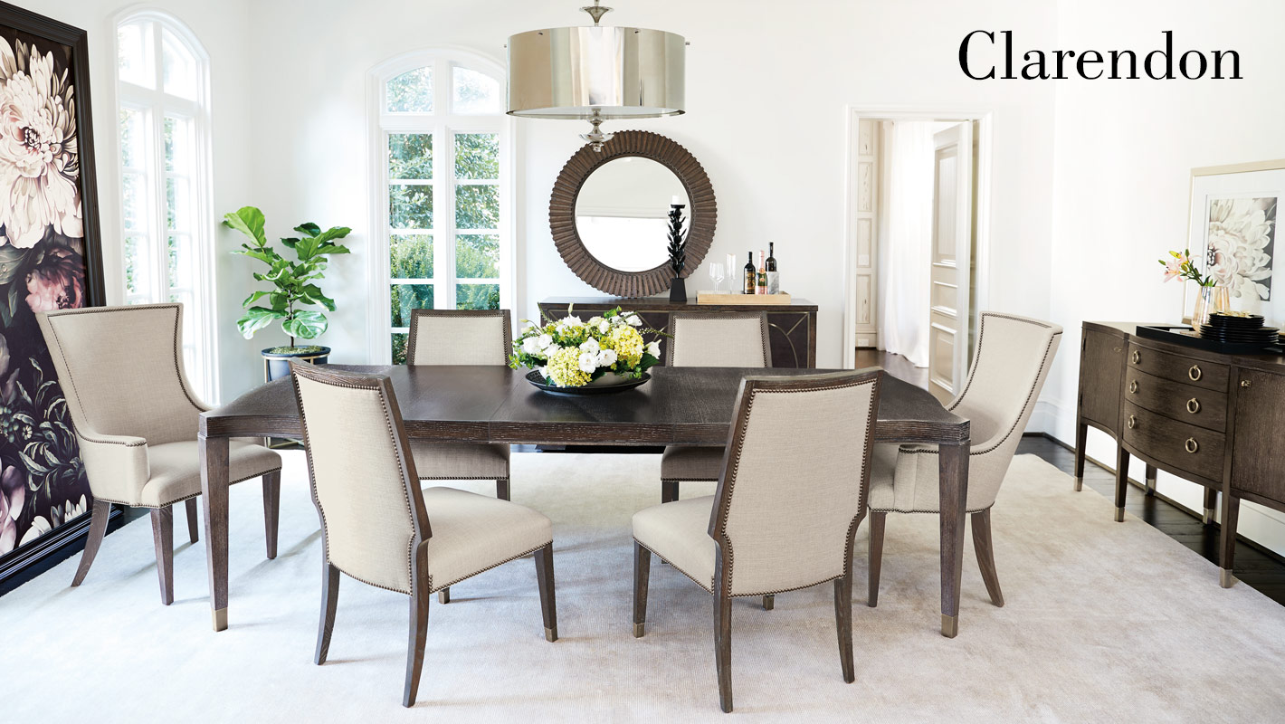 incredible dining room tables furniture | Clarendon Dining Room Items | Bernhardt