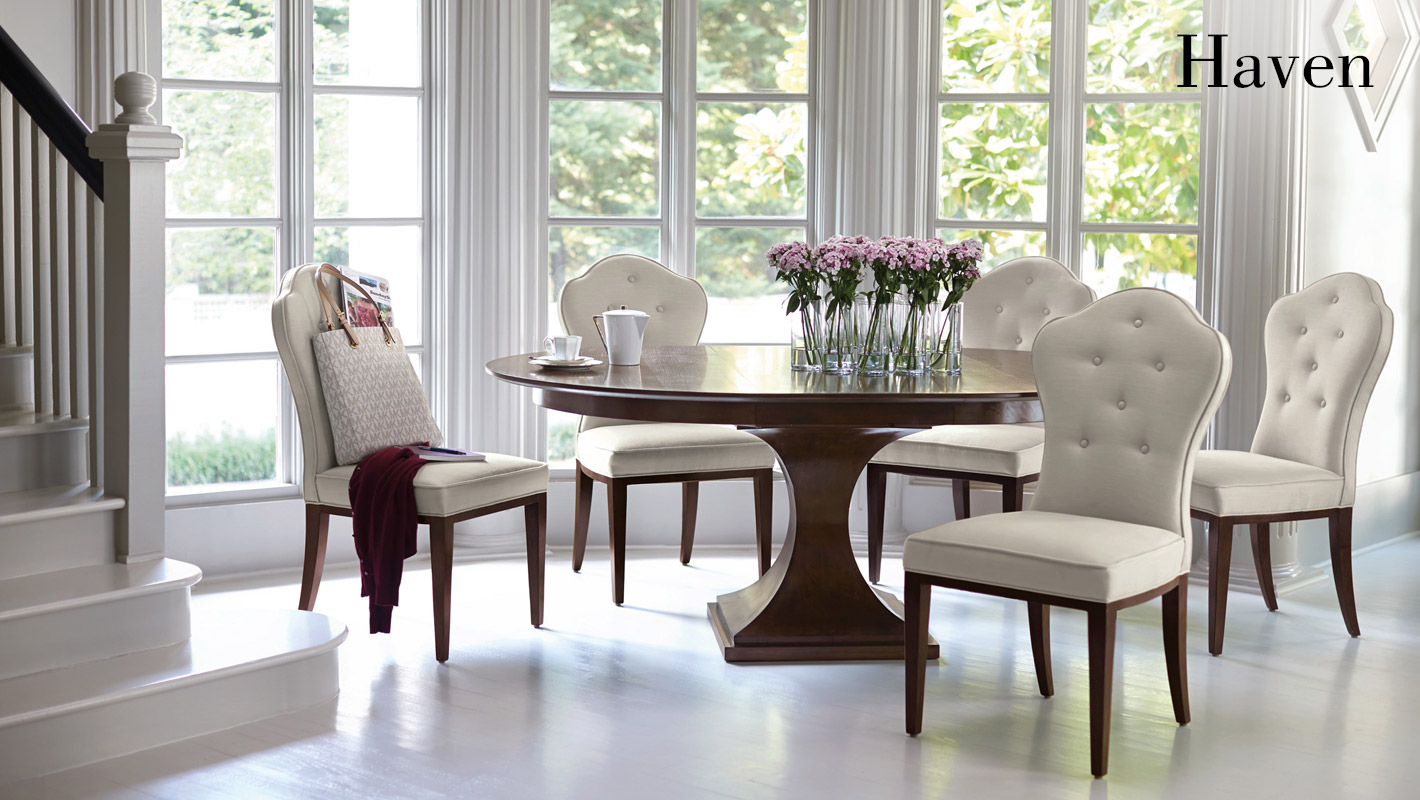 haven dining room items bernhardt rh bernhardt com bernhardt hibriten dining room set bernhardt shibui dining room chairs