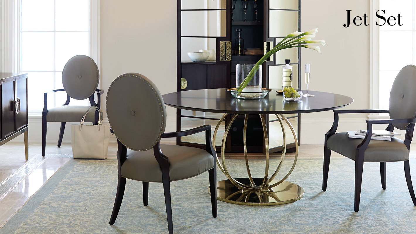 jet set dining room items bernhardt rh bernhardt com bernhardt shibui dining room chairs bernhardt dining room set