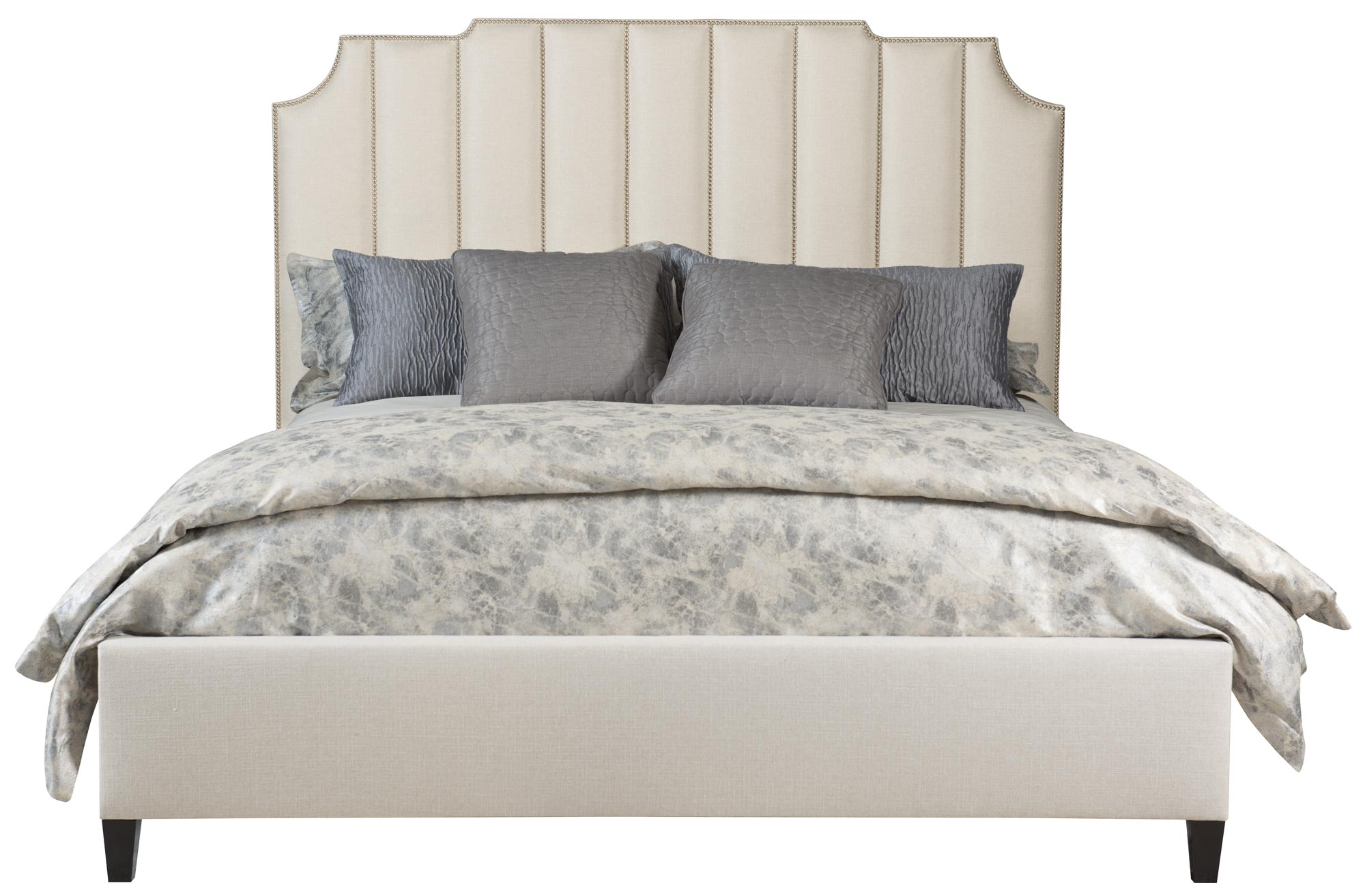 Upholstered Bed Low Footboard Bernhardt