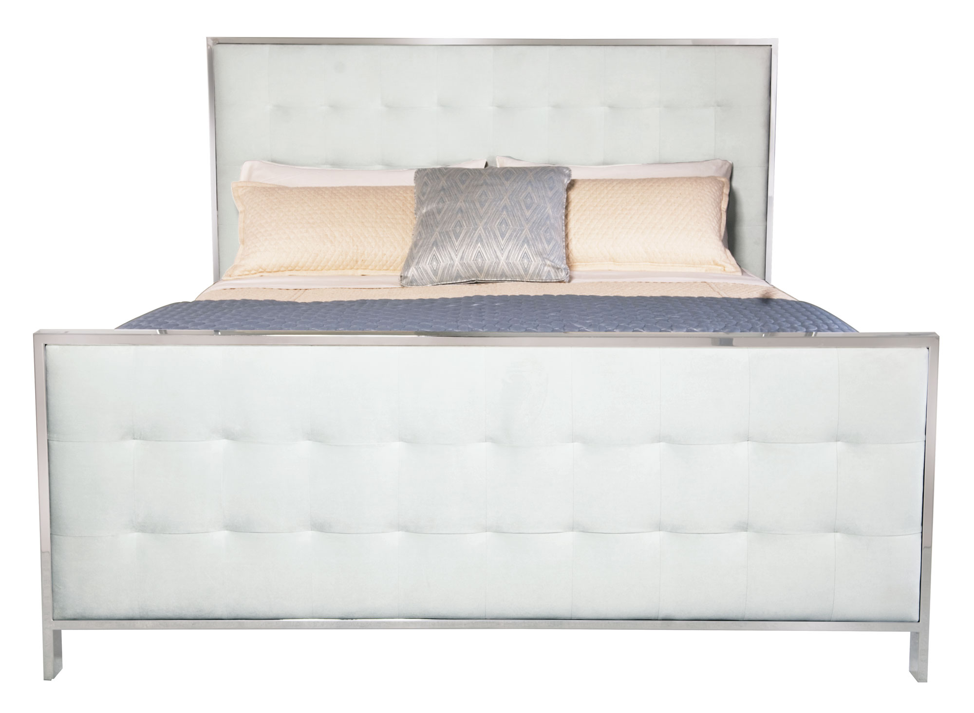 Upholstered Panel Bed Bernhardt