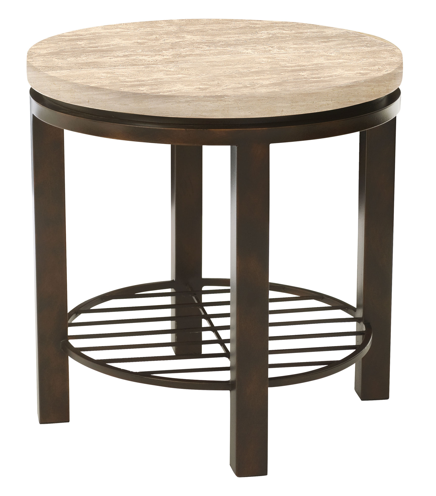 Macy S Marble Top Coffee Table: Round End Table