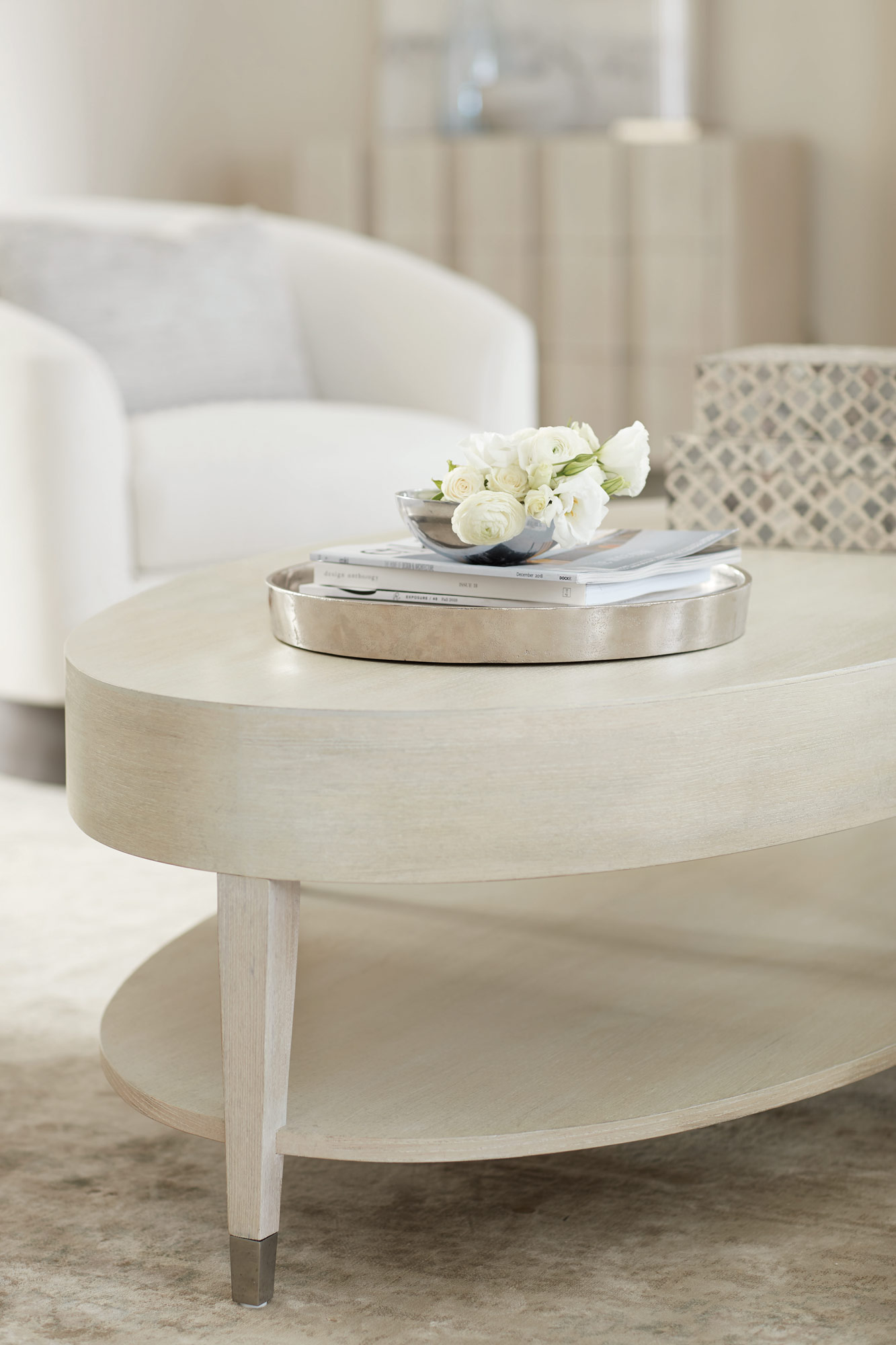 Oval Cocktail Table Bernhardt