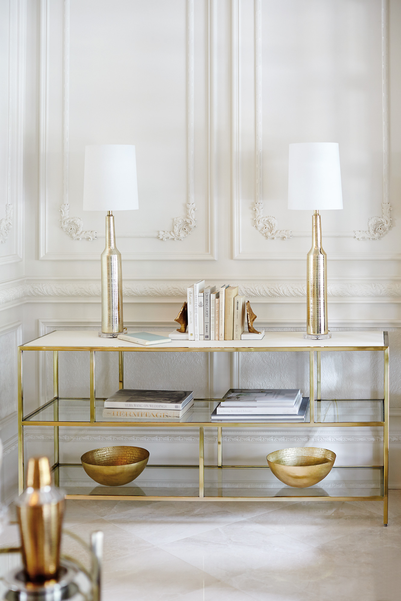 Jet Set Entertainment Console Bernhardt