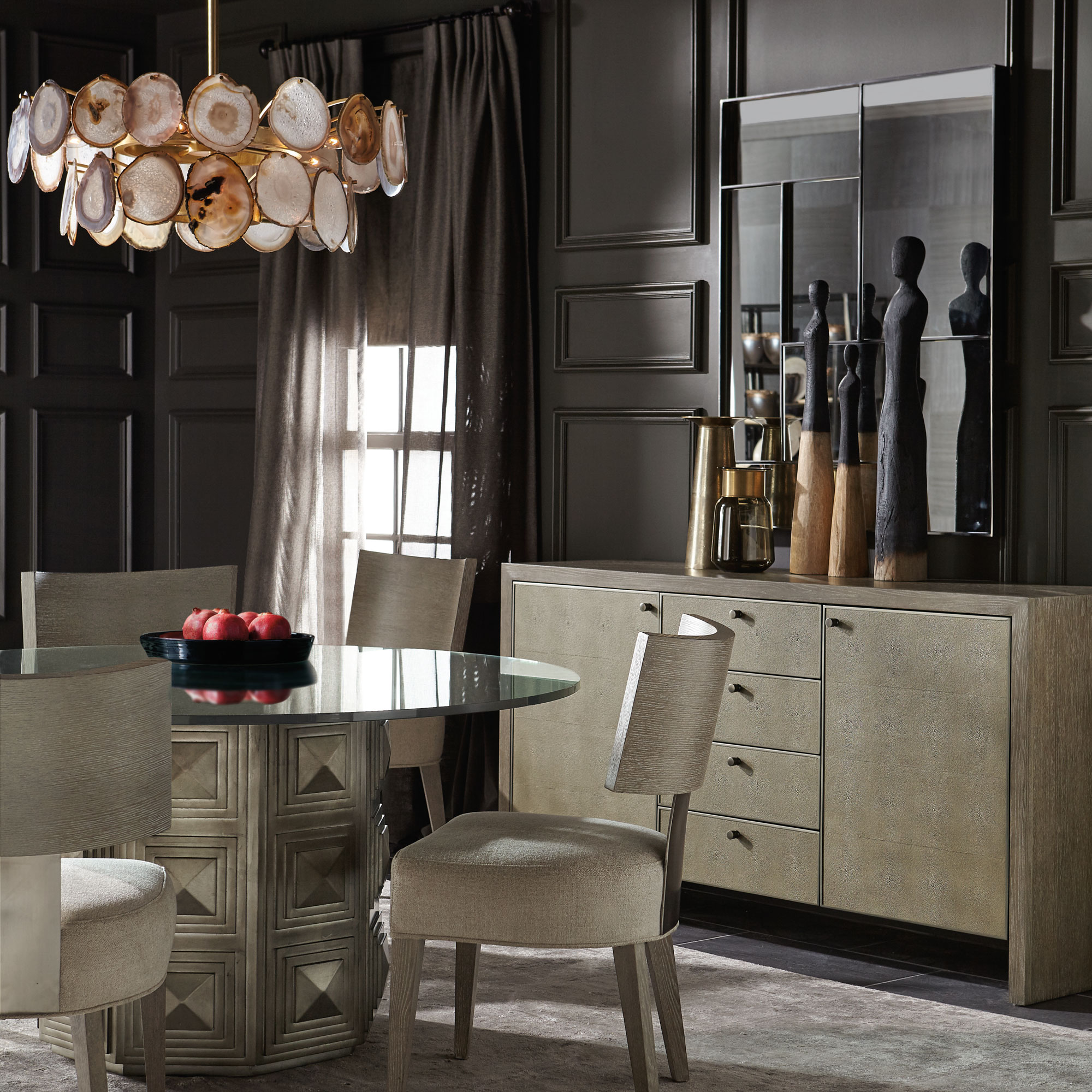 Mosaic Dining Room Table: Mosaic Dining Room