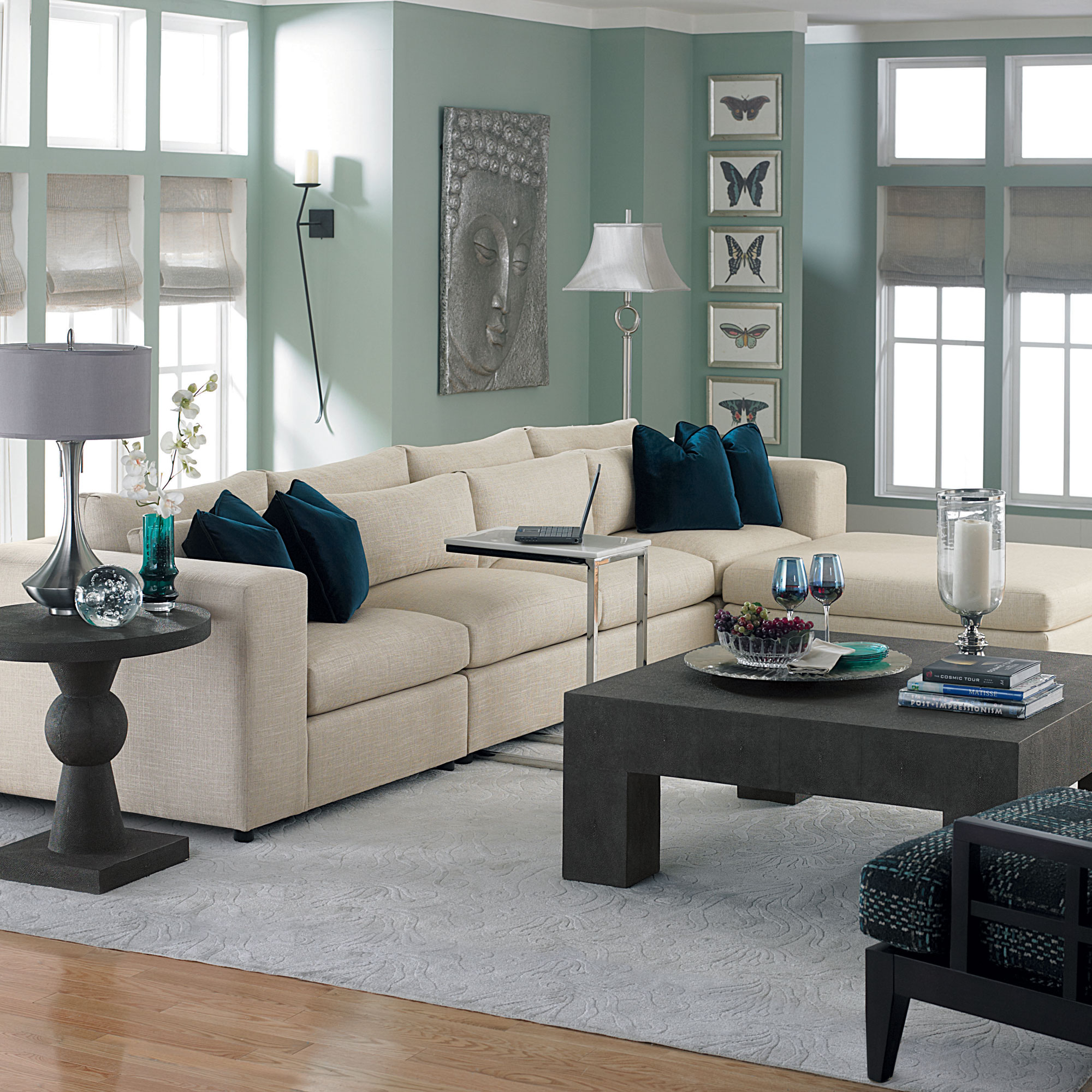 Design In The Living Room: Como Living Room
